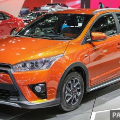 New Yaris Trd Grand Veloz 1.5 Vs Mobilio Rs Gallery Toyota Sportivo At Bangkok 2016
