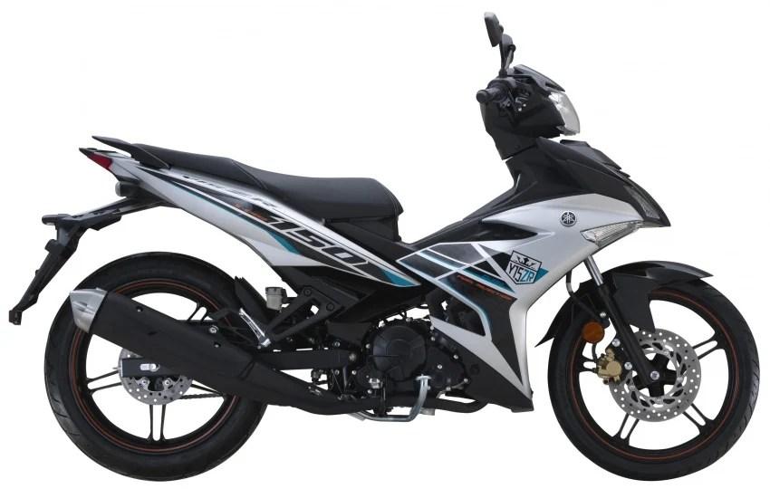 Yamaha Y15ZR 2017 diperkenalkan dalam warna baharu untuk