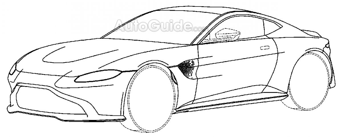 All-new Aston Martin Vantage patent images revealed