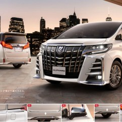 All New Alphard 2018 Harga Grand Avanza 1.3 G M/t Basic Toyota Vellfire  Modellista Trd Kit
