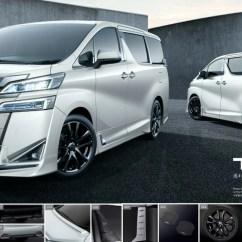 All New Toyota Vellfire 2018 Harga Alphard  Modellista Trd Kit