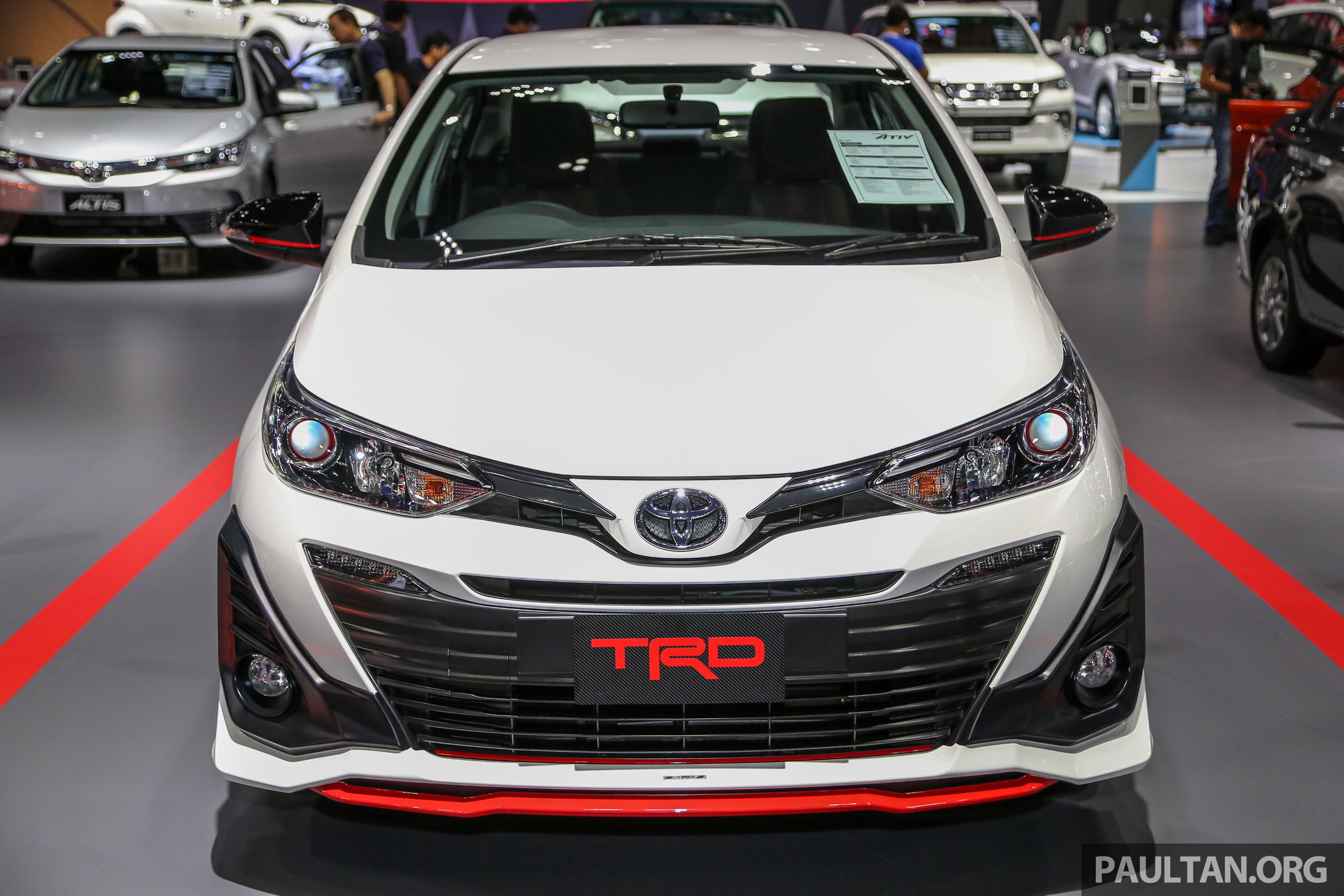 toyota yaris trd spoiler all new camry 2019 interior bangkok 2018 ativ future vios