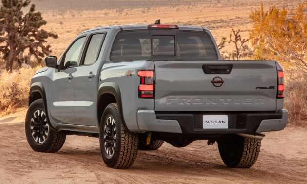 2022 nissan frontier debuts in the us