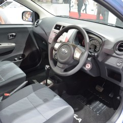 Interior New Agya Trd Harga Yaris Sportivo 2017 Daihatsu Ayla 1 0l Eco Car Launched In Indonesia Image 132200