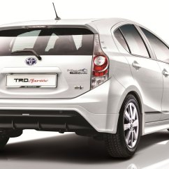 New Yaris Trd Sportivo Manual Grand Avanza G 1.5 Toyota Prius C Officially Goes On Sale