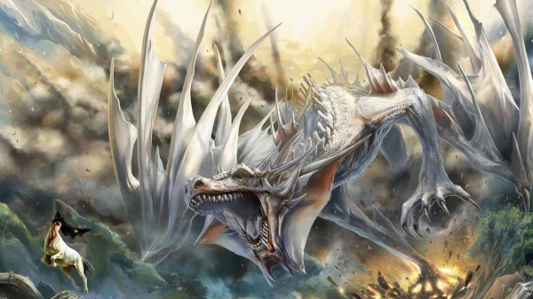 Free Pictures of White Dragons