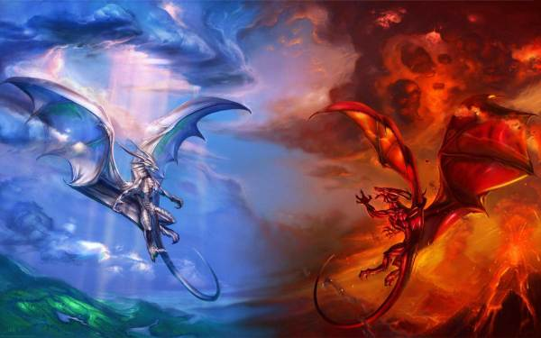 Dragons Fire and Ice