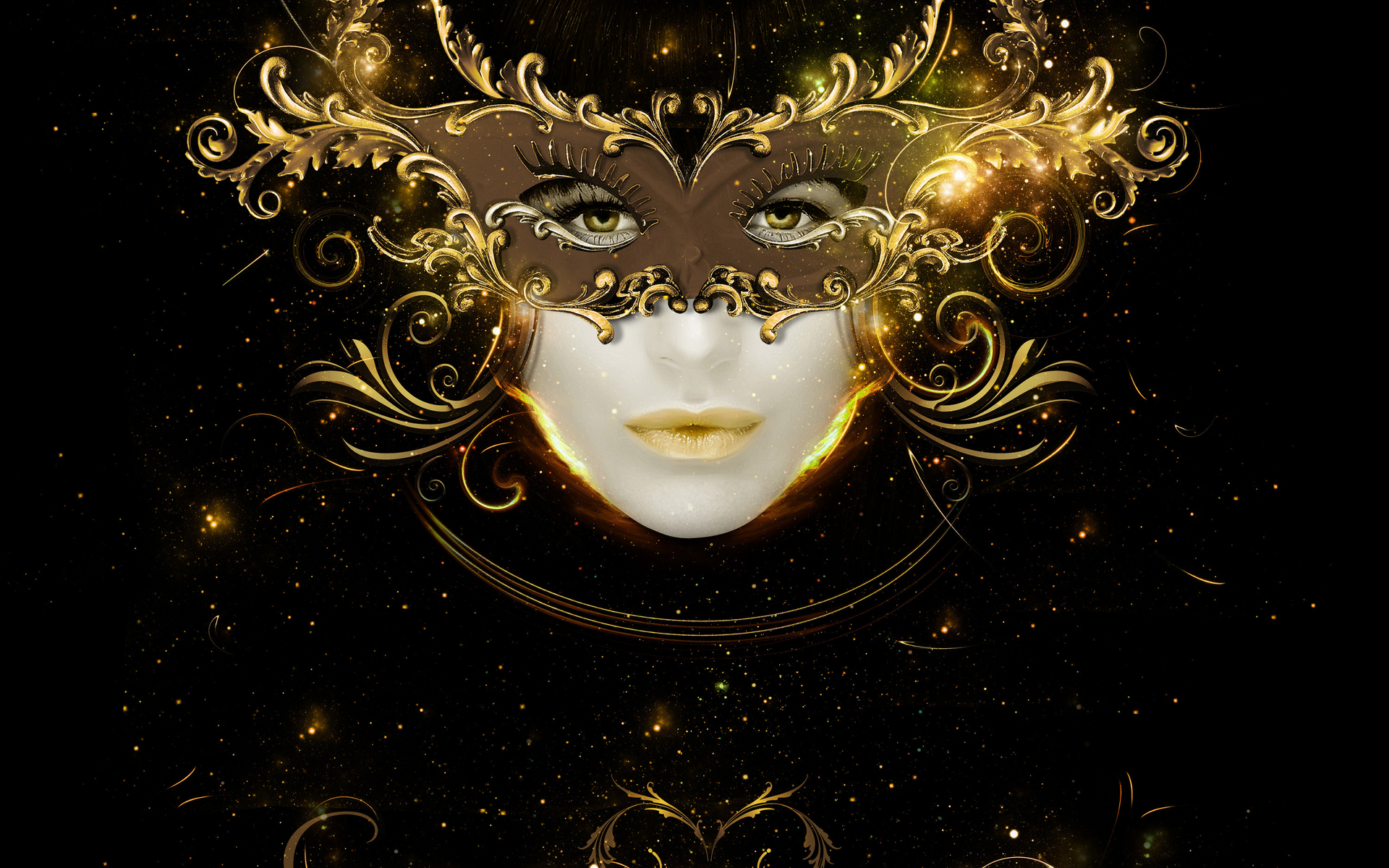 Girl With Mask Wallpaper Mask Wallpapers Best Wallpapers