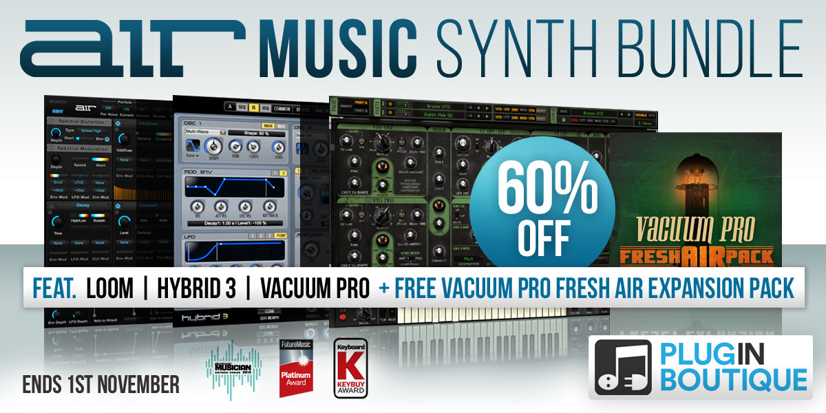 1200 x 600 pib air synth bundle