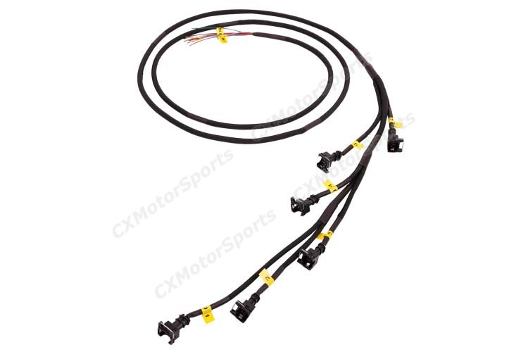 CXRacing EV1 Injector Wire Harness Connector for Toyota
