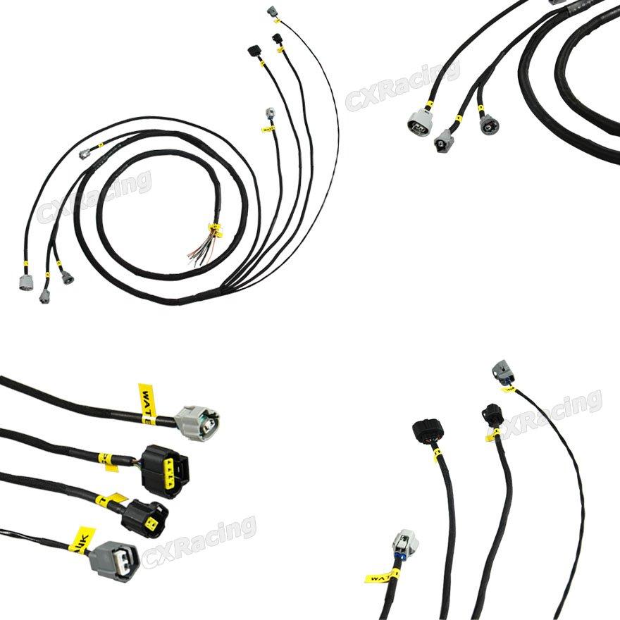 CXRacing Water Temp TPS VVTI CRANK Knock ALT Wire Harness
