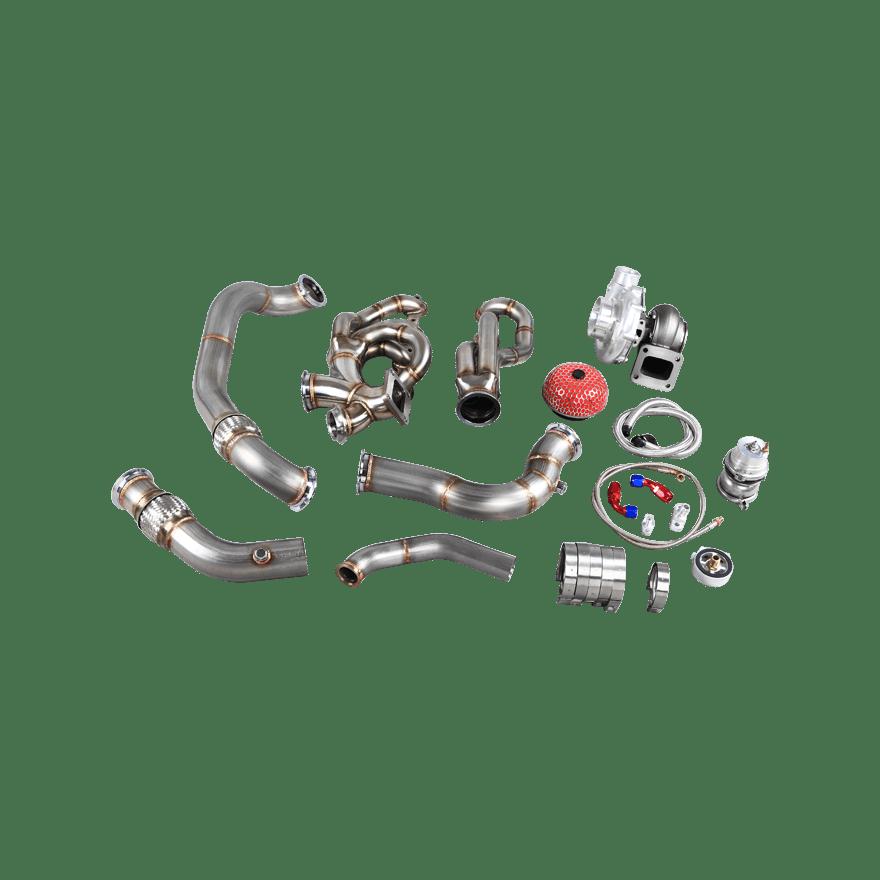 CXRacing Turbo Manifold Kit For 04-13 BMW E90/E92 LS1