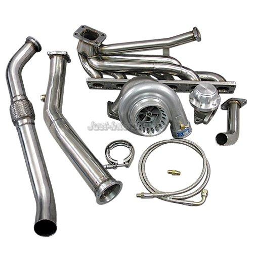 Top Mount T3 GT35 Turbo Kit For 92-98 BMW E36 325i 328i
