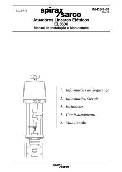 Posicionador Electro-Pneumático Série EP5,ISP5