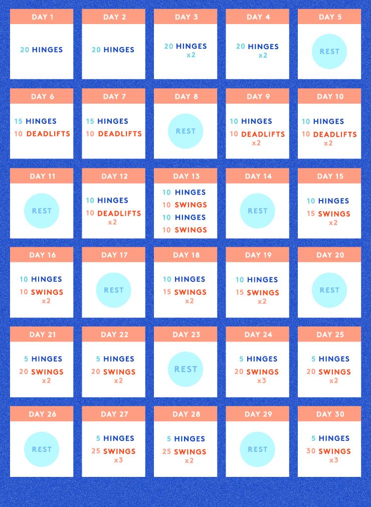 30 day kettlebell workout