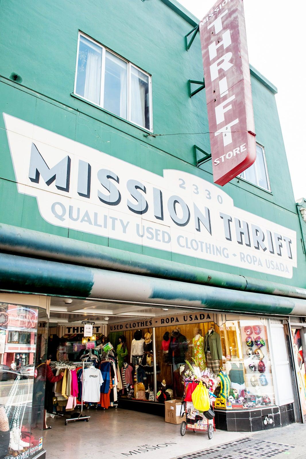 best thrift stores san
