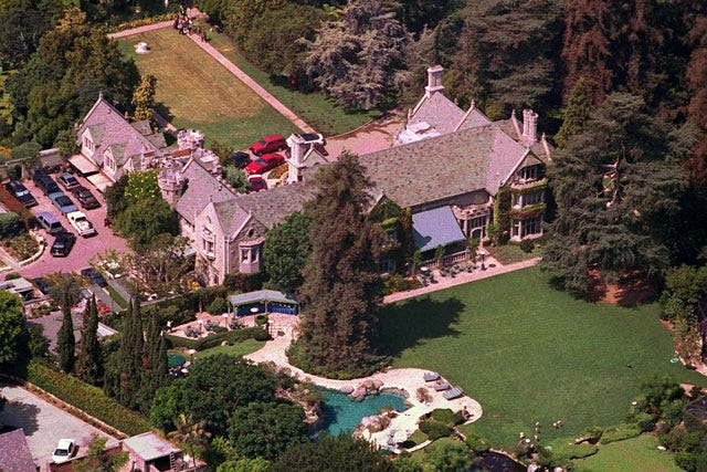 Image result for hugh hefner playboy mansion west animals