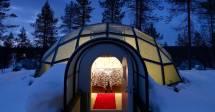 Glass Igloos Northern Lights Kakslauttanen Resort