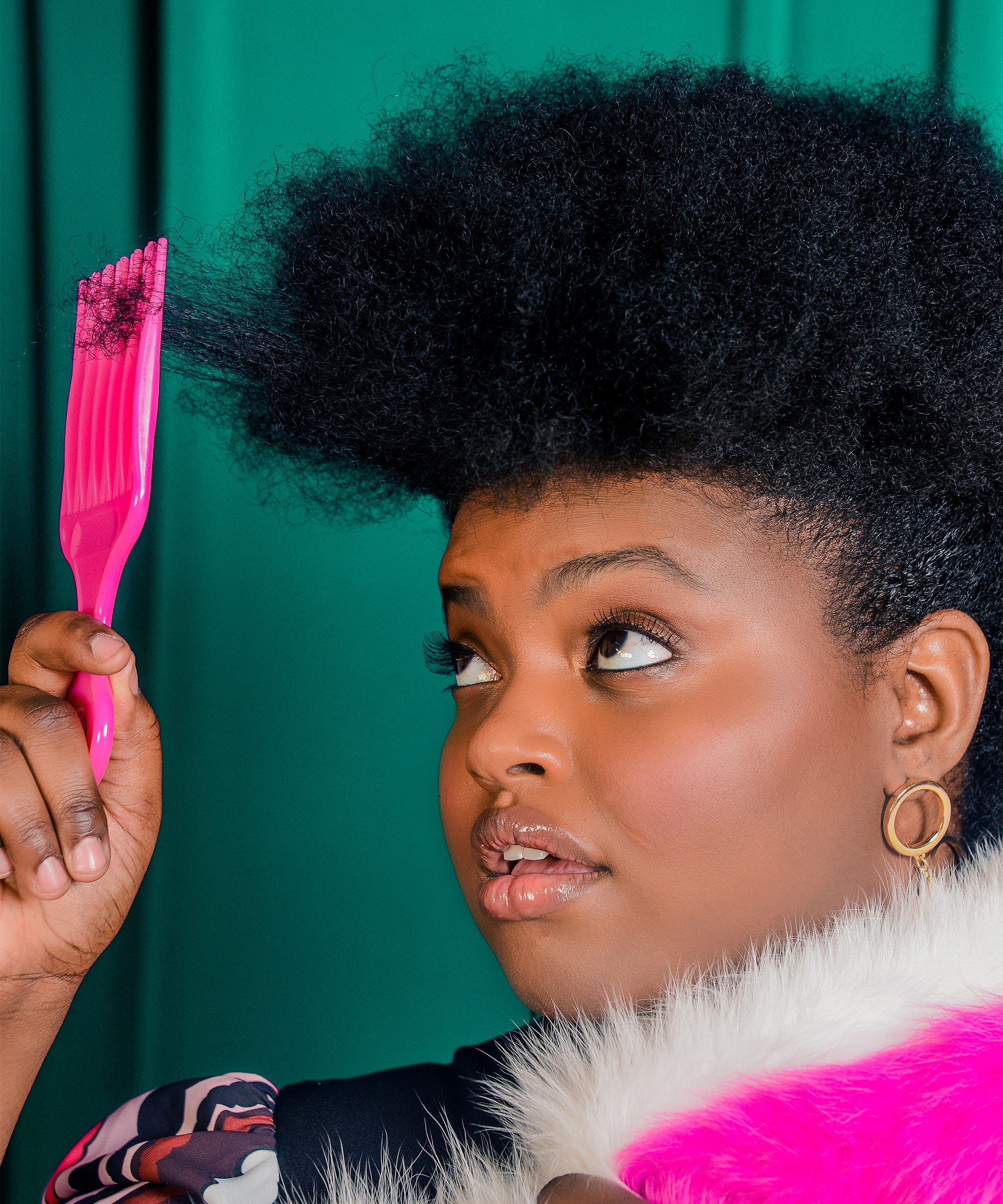 How To Trim Your Curly Natural Hair At Home Best Tips