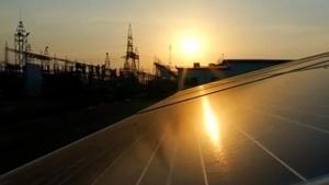 Gujarat solar park highlights India's clean energy goals