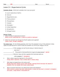 Cycles Of Matter Worksheet. Worksheets. Ratchasima ...