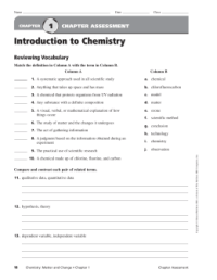 Introduction To Chemistry Worksheet Answers. Worksheets ...