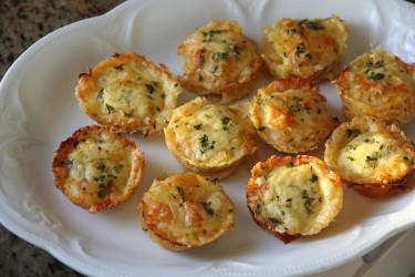 Thyme Potato Stacks, Garlic and Cheddar (Photo by Cynthia Nelson)