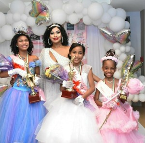 Three young princesses were crowned at Kids Fest 592
