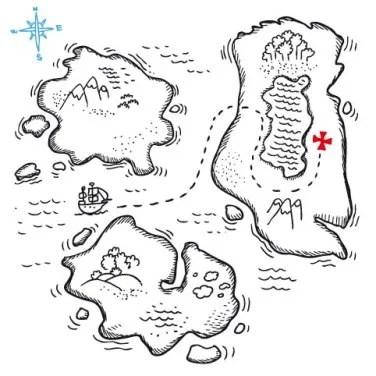 Mapa do tesouro: uma aula de Cartografia. Aula de Cartografia