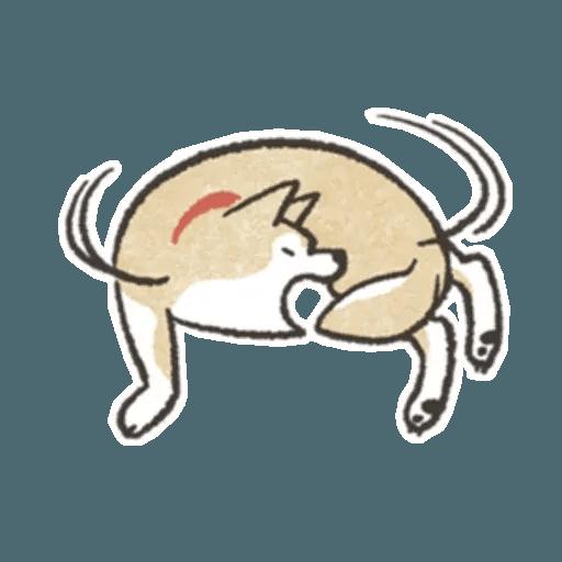 Shiba 1 WhatsApp Stickers - Stickers Cloud