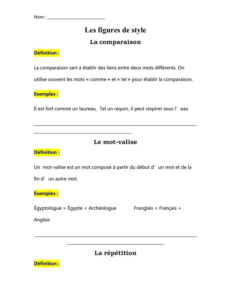 Métaphore - Figure de style [définition et exemples] | La