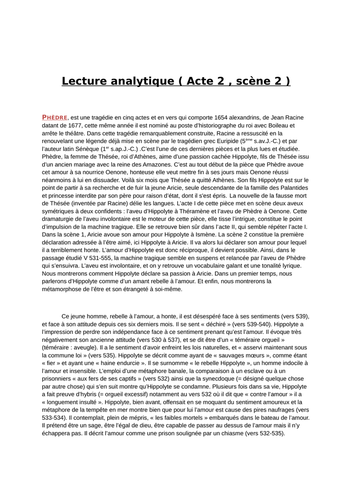 Le Cid Acte 2 Scene 2 : scene, Lecture, Analytique, Scène