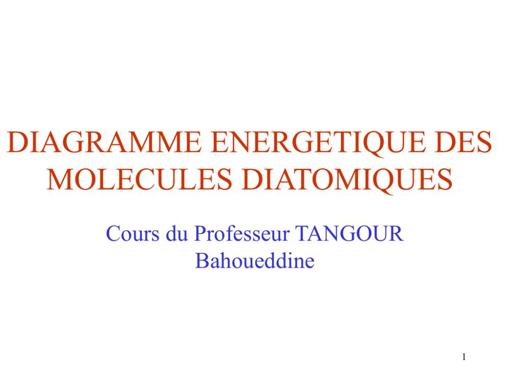 medium resolution of construction diagramme dorbitale moleculaire