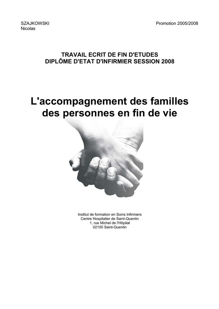 Role Infirmier Dans L'accompagnement Des Familles : infirmier, l'accompagnement, familles, L`accompagnement, Familles, Personnes