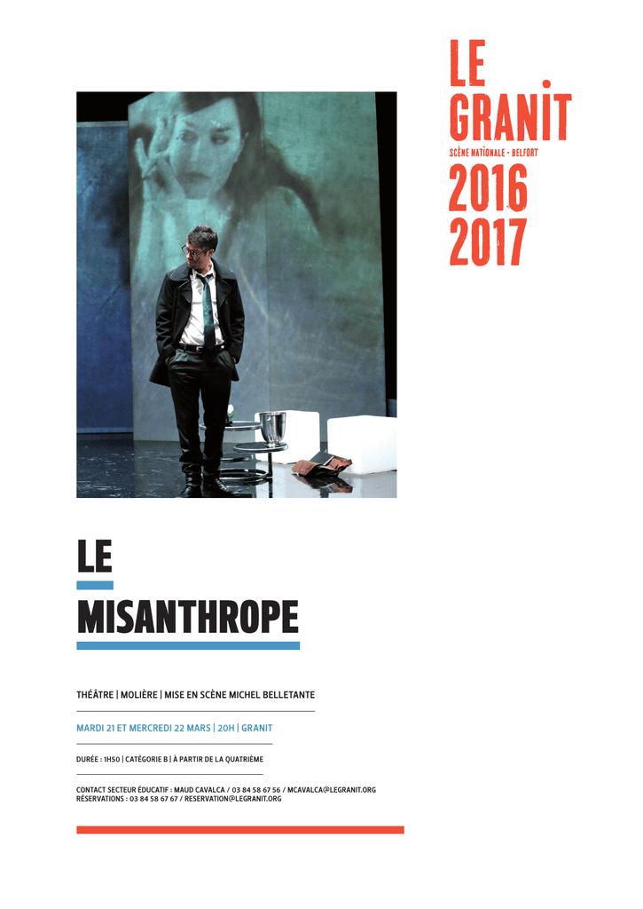 Le Misanthrope Lambert Wilson Critique : misanthrope, lambert, wilson, critique, Misanthrope, Granit