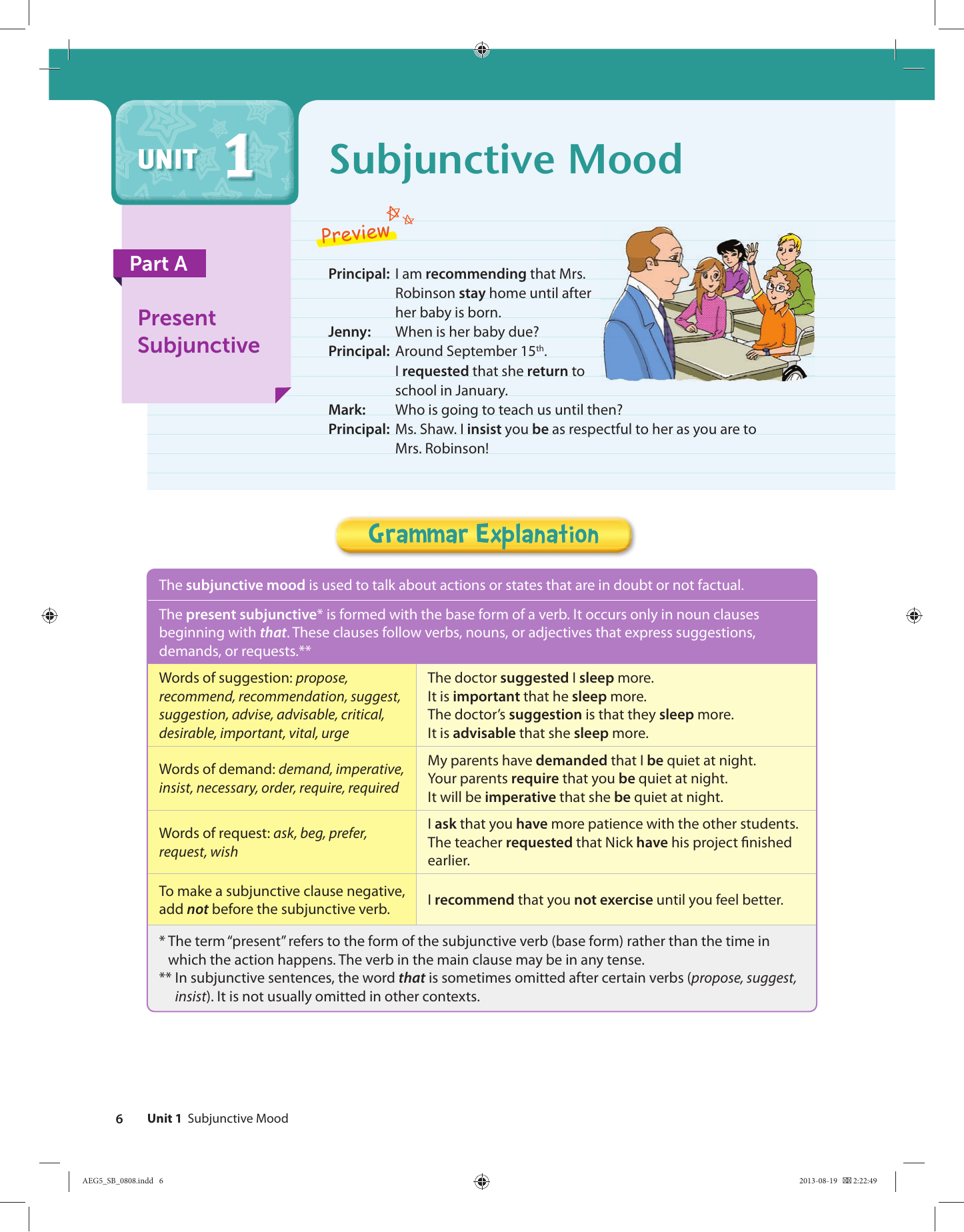 Present Subjunctive English : present, subjunctive, english, Subjunctive
