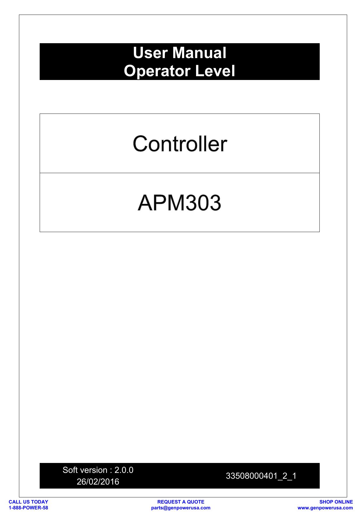 hight resolution of manual user sdmo control apm303 retrokit apm 303 wiring diagram