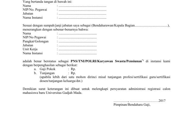 Contoh Surat Keterangan Pensiun Karyawan Swasta - Servyoutube