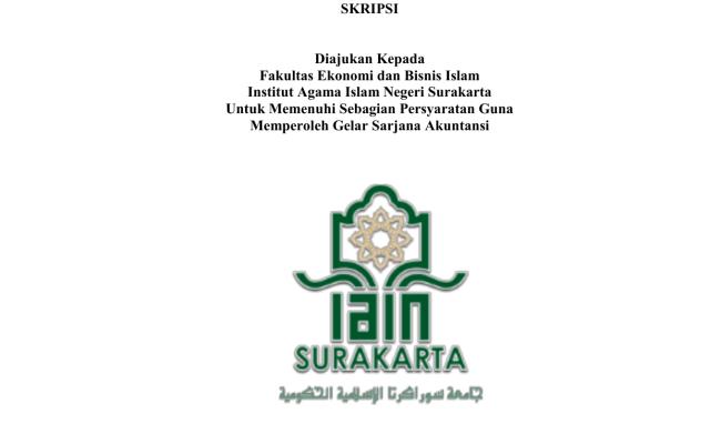 Judul Skripsi Ekonomi Syariah Terbaru 2018 Keuangan Cute766