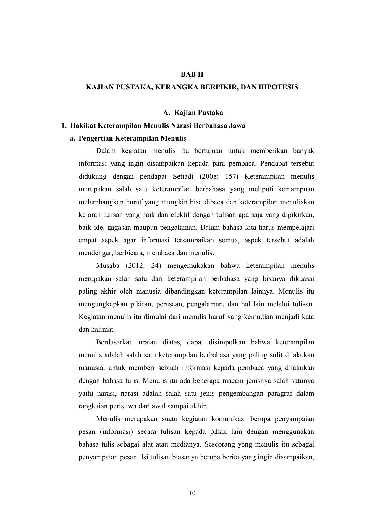 Contoh Narasi Bahasa Jawa Singkat - Aneka Macam Contoh