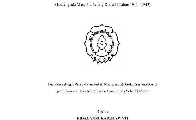 Contoh Proposal Skripsi Tentang Analisis Novel Kumpulan Berbagai Skripsi Cute766