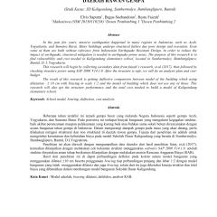 Analisa Harga Satuan Pekerjaan Atap Baja Ringan 2017 Analisis Struktur Model Bangunan Sekolah Dasar