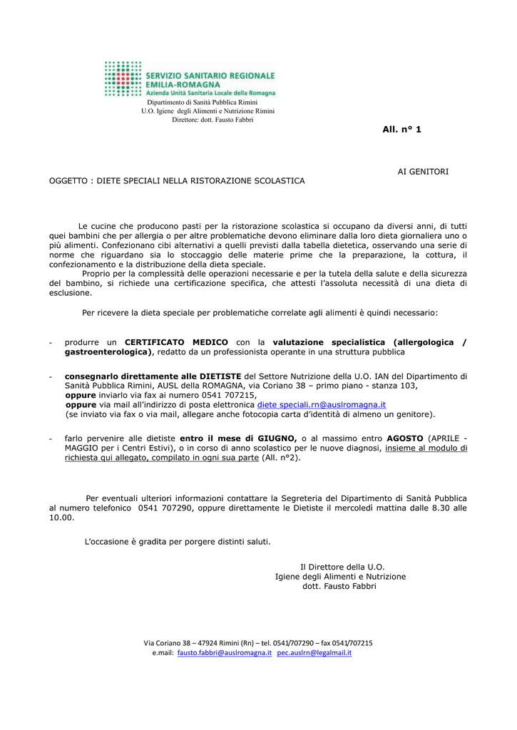Dipartimento Di Sanità Pubblica Rimini Uo Igiene Degli