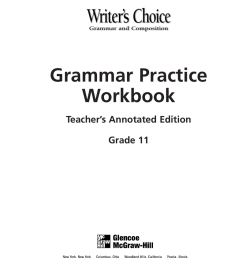 Grammar Practice Workbook [ 1024 x 791 Pixel ]