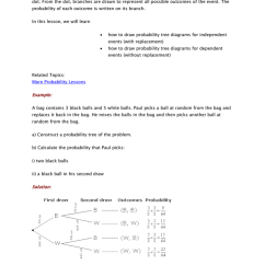 Probability Tree Diagram Example Problems Dc Energy Meter Circuit Diagrams