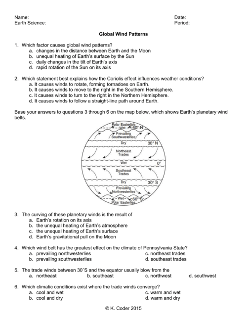 small resolution of Global Winds Worksheet