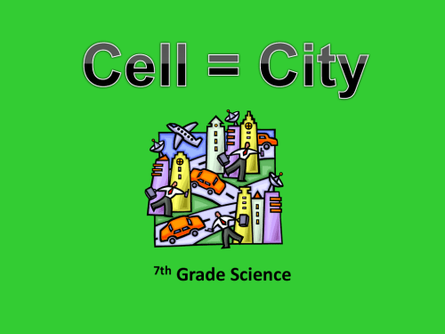 small resolution of Cell City Analogy