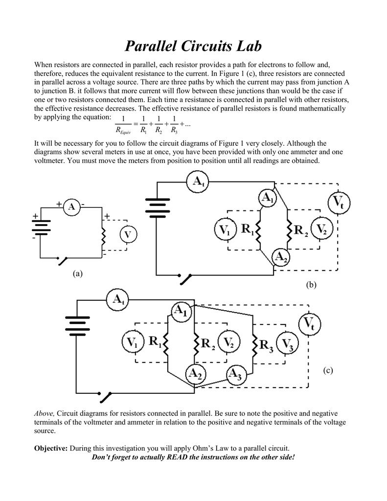 medium resolution of circuit diagram positive negative