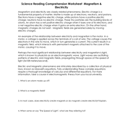 Reading Comprehension Worksheet - 9th Grade [ 1024 x 791 Pixel ]