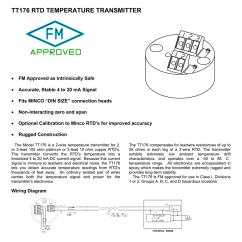 Minco Rtd Wiring Diagram Braun Millennium Wheelchair Lift Tt176 Temperature Transmitter
